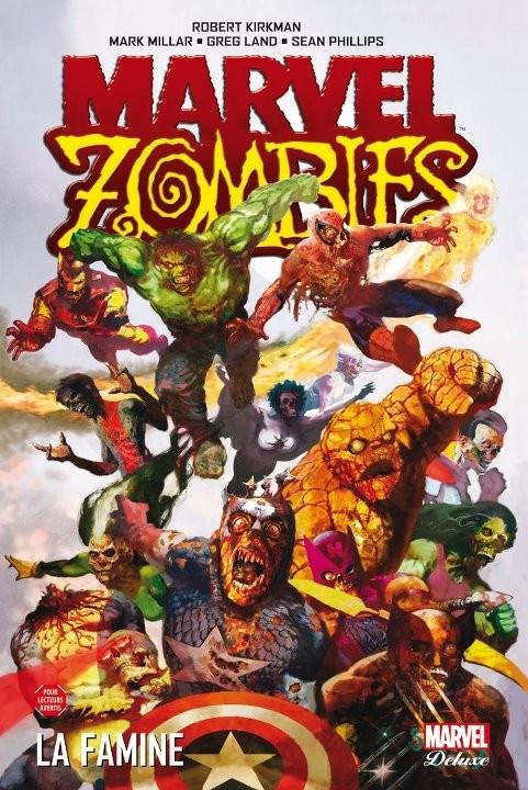 Couverture de Marvel Zombies (Marvel Deluxe) -1- Famine