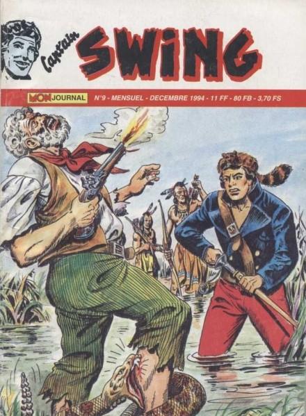 Couverture de Capt'ain Swing! (2e série - Mon Journal) -9- Le secret de Wobak