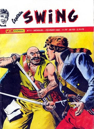 Couverture de Capt'ain Swing! (2e série - Mon Journal) -11- Le traître de Port-Hayward
