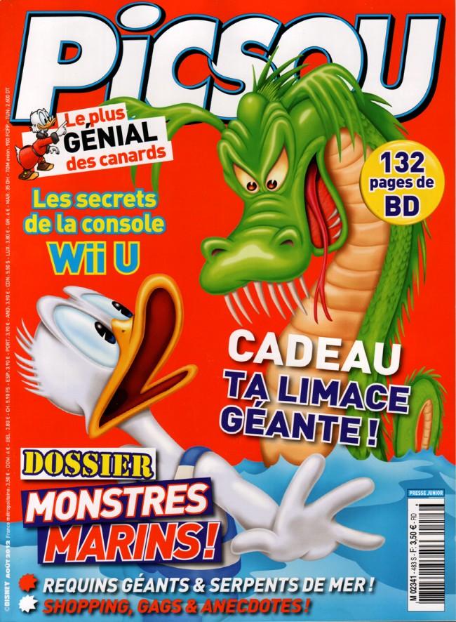 Couverture de Picsou Magazine -483- Picsou Magazine n° 483