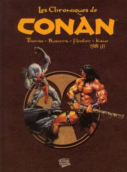 Couverture de Les chroniques de Conan -11- 1981 (I)