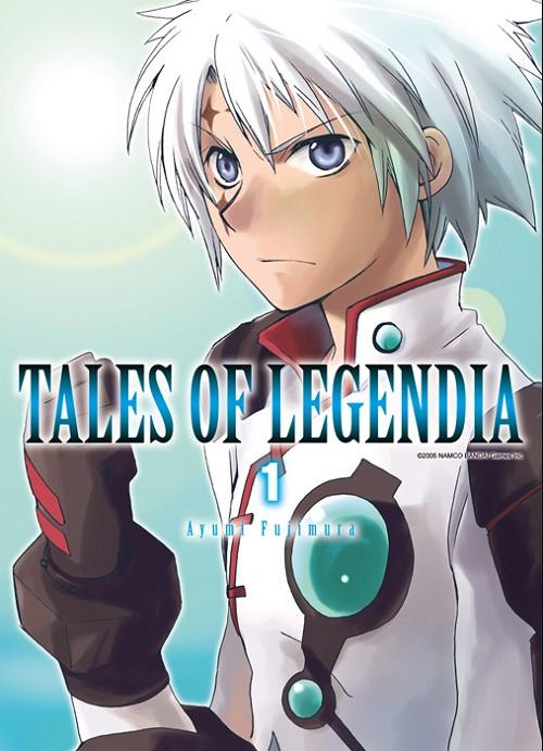 Couverture de Tales of Legendia -1- Tome 1