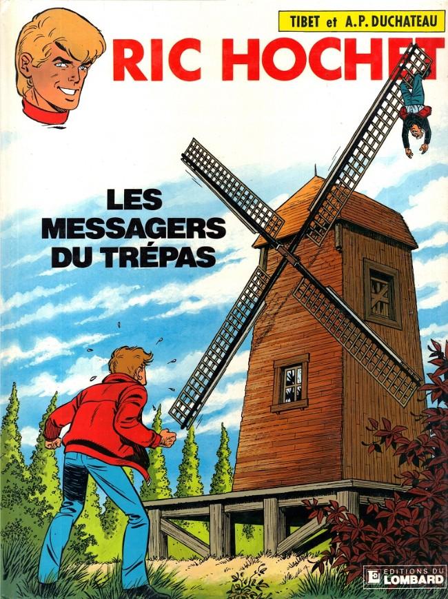 Couverture de Ric Hochet -43- Les messagers du trépas