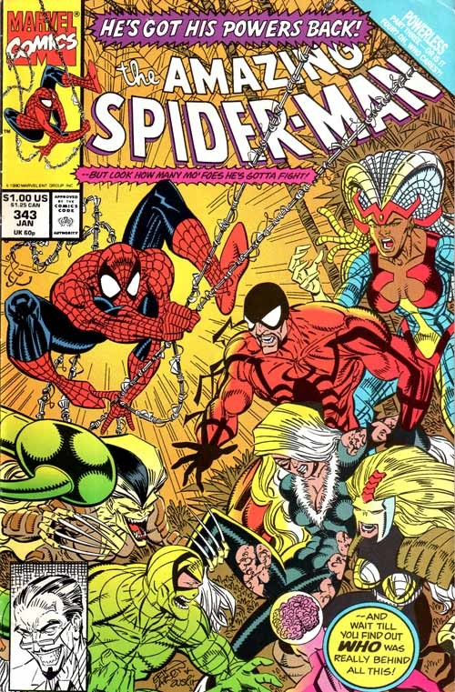 Couverture de The amazing Spider-Man Vol.1 (Marvel comics - 1963) -343- War garden!