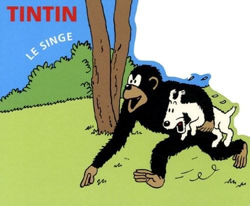Couverture de Tintin - Divers -AN3- Le Singe