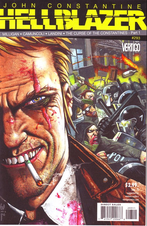 Couverture de Hellblazer (DC comics - 1988) -293- The curse of the Constantines (1): The stolen child