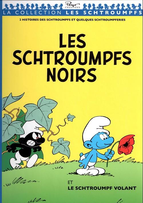 Couverture de Les schtroumpfs - Collection Télé 7 jours -11- Les schtroumpfs noirs