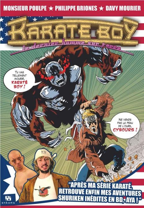 Couverture de Karaté Boy le dernier homme sur terre - L'Intégrale des Karaté Boy Magazine de 1986/1987