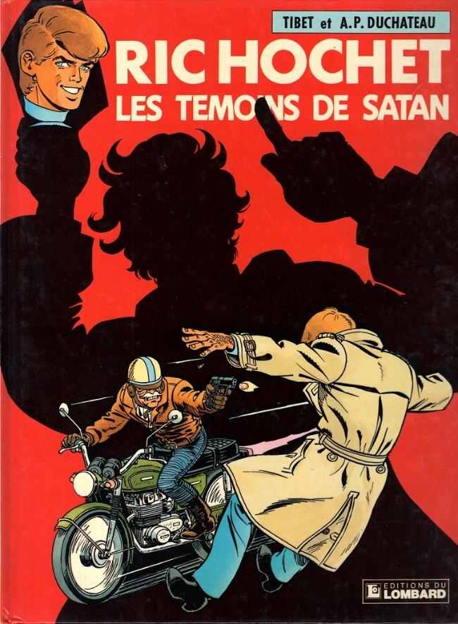 Couverture de Ric Hochet -46- Les témoins de Satan
