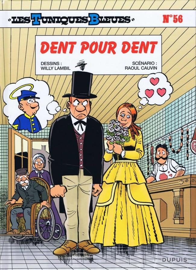 Couverture de Les tuniques Bleues -56- Dent pour dent