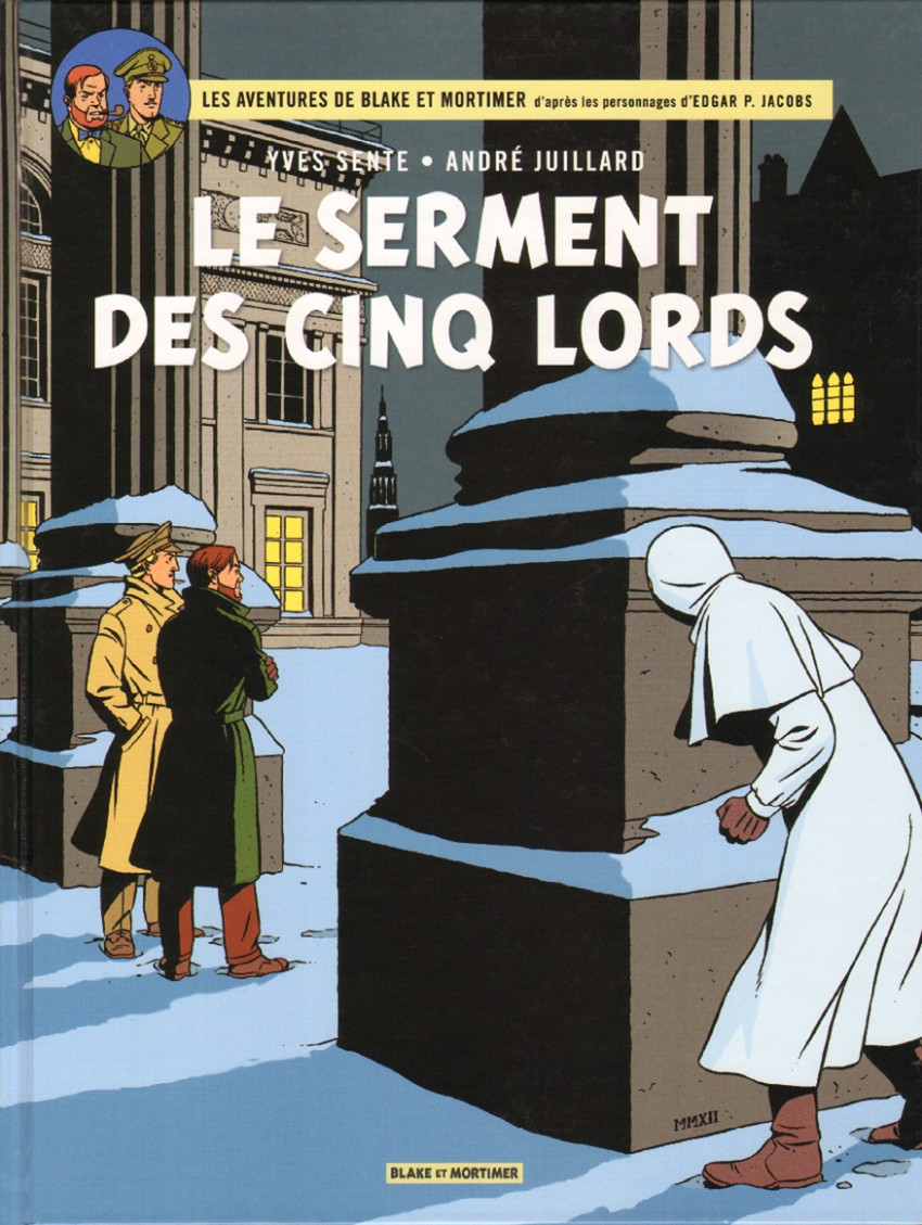 Couverture de Blake et Mortimer -21- Le Serment des cinq lords