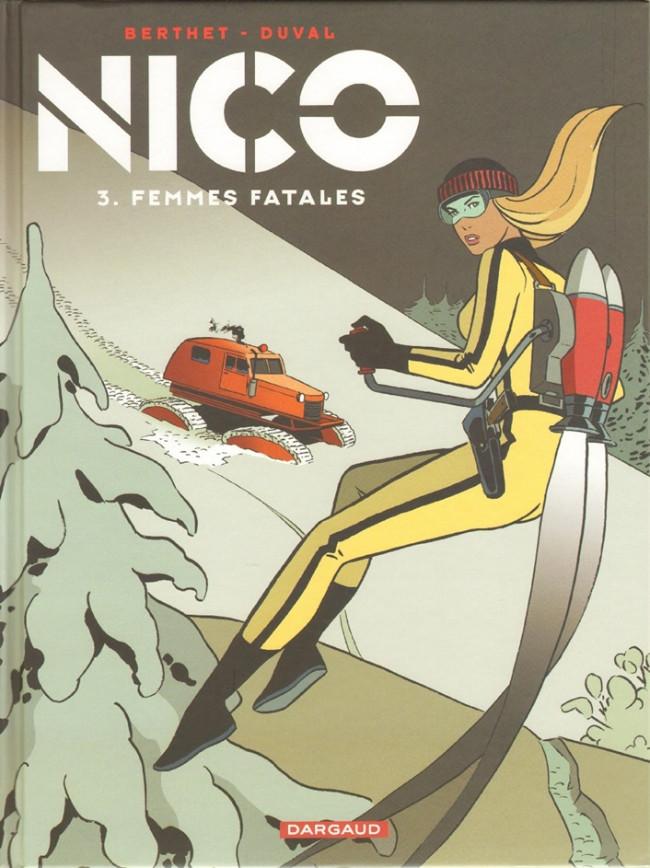 Couverture de Nico -3- Femmes fatales