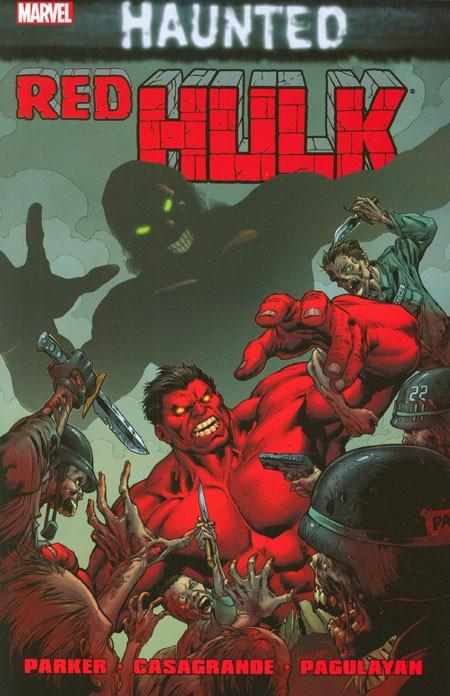 Couverture de Hulk Vol.2 (Marvel comics - 2008) -INT11- Red Hulk: Haunted