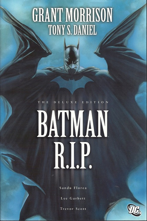 Couverture de Batman (1940) -INT- Batman R.I.P. (the deluxe edition)