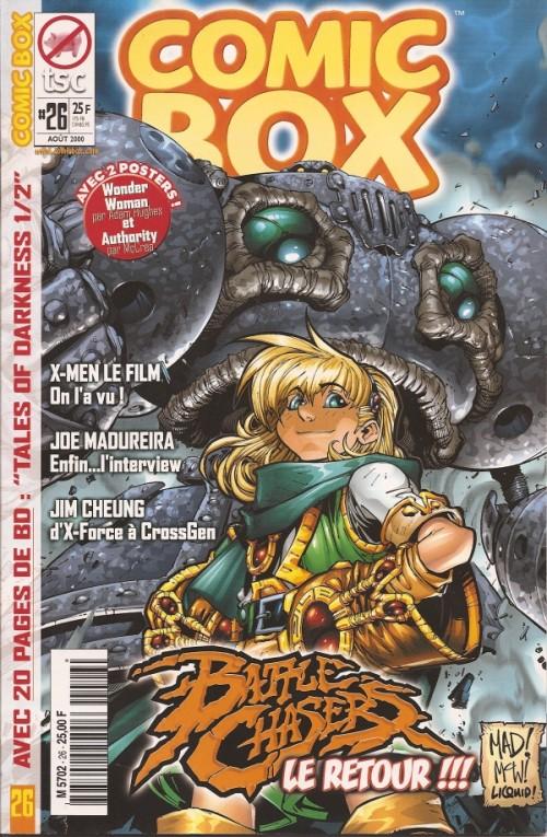 Couverture de Comic Box (1re série) -26- Comic Box 26