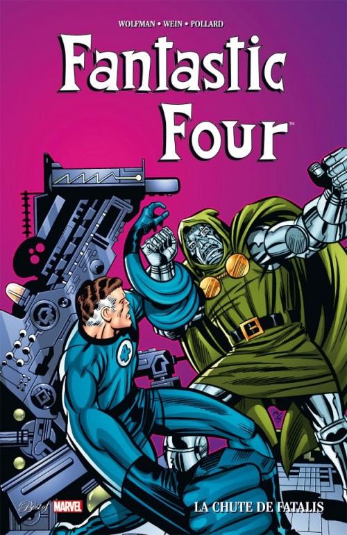 Couverture de Best of Marvel -32- Fantastic Four : La Chute de Fatalis
