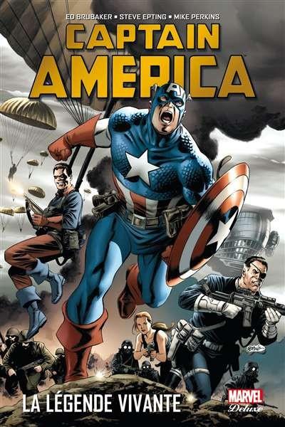 Captain America - Tome 2, La légende vivante
