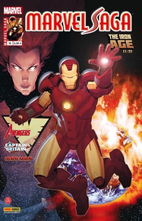 Couverture de Marvel Saga (1re série - 2009) -15- The Iron Age 1/2