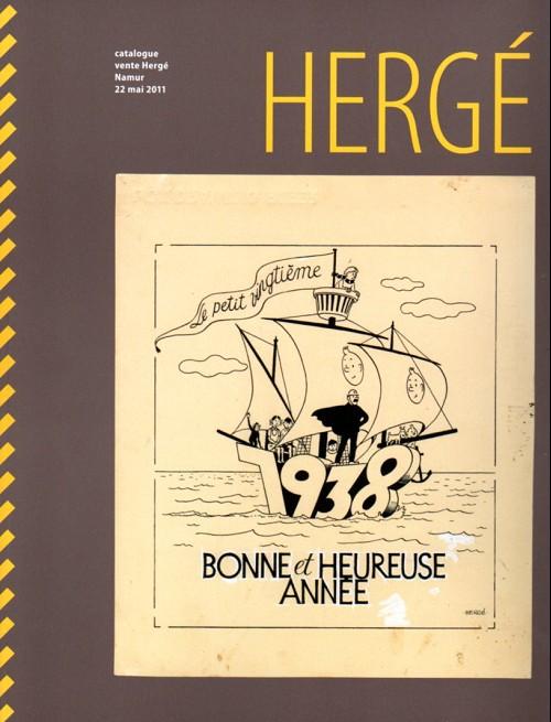 Couverture de (Catalogues) Ventes aux enchères - Divers - Rops - Hergé - 22 mai 2011 - Namur