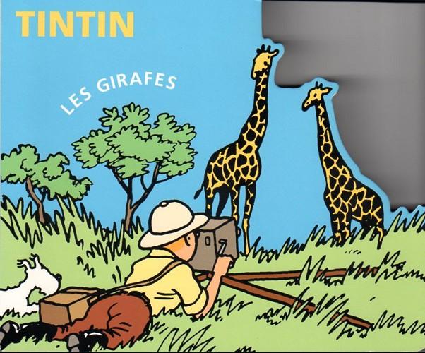 Couverture de Tintin - Divers -AN1- Les girafes
