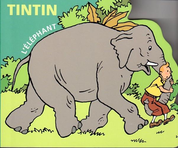 Couverture de Tintin - Divers -AN2- L'Éléphant