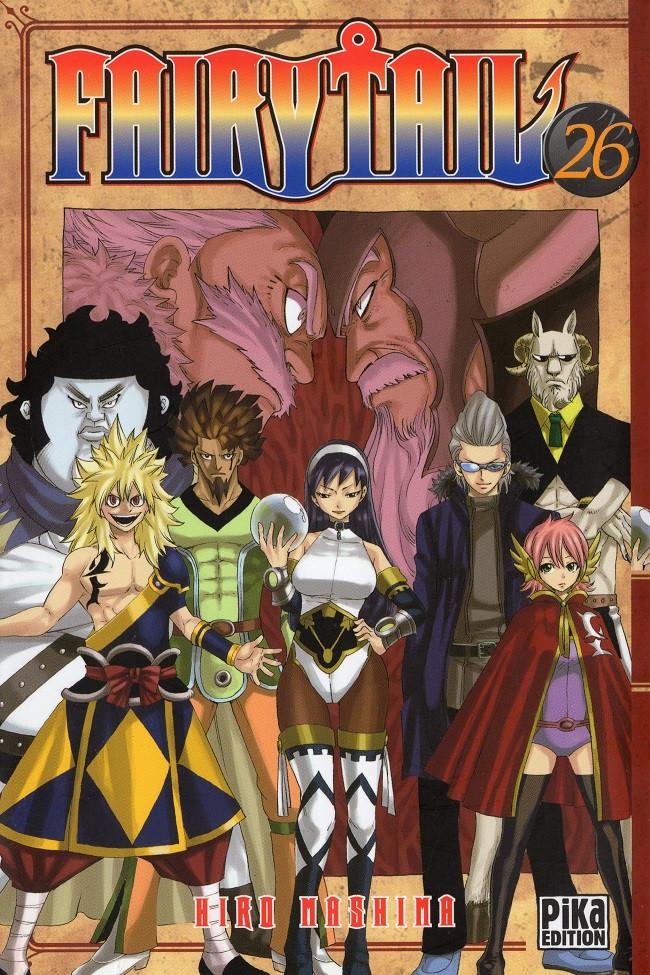 Couverture de Fairy Tail -26- Tome 26