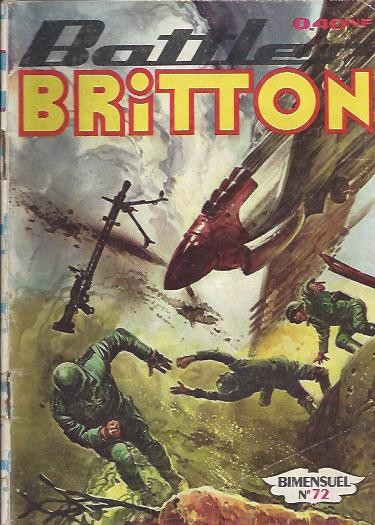 Couverture de Battler Britton -72- Le vrai devoir