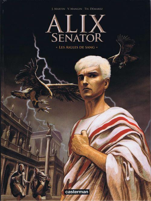 Couverture de Alix Senator -1- Les Aigles de sang