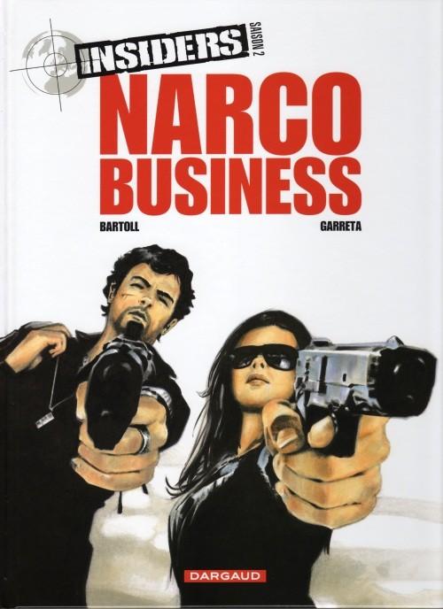 Couverture de Insiders -9- Narco business