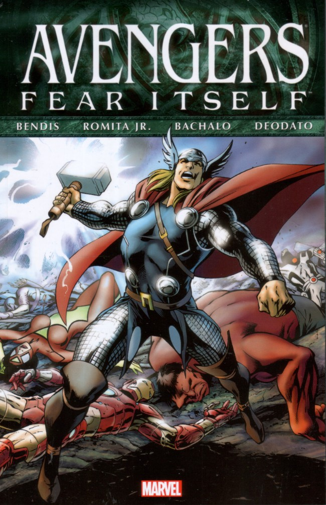 Couverture de Fear Itself: Avengers (2012) -INTa- Fear Itself: Avengers