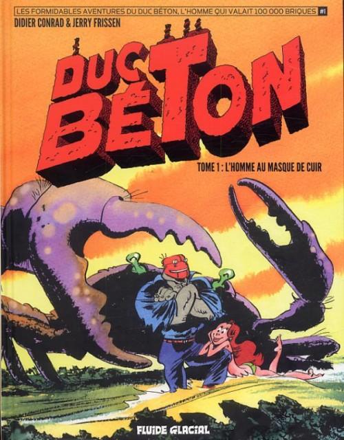 Couverture de Duc Béton -1- L'homme au masque de cuir