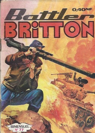 Couverture de Battler Britton -77- Répit