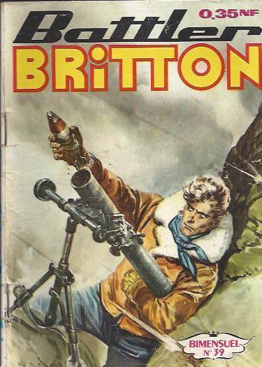 Couverture de Battler Britton -39- Les trois rounds