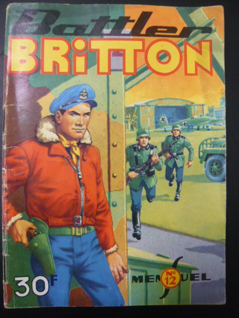 Couverture de Battler Britton -12- Le Hollandais