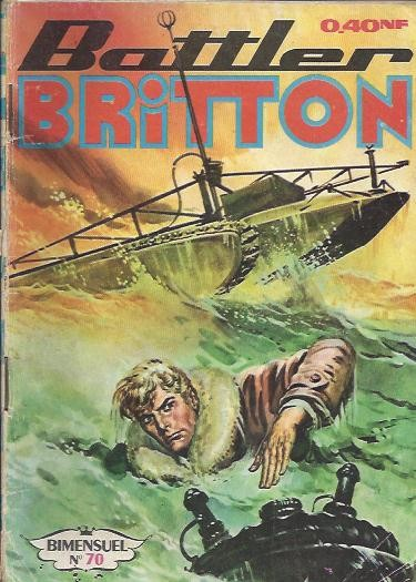 Couverture de Battler Britton -70- Attention torpille !