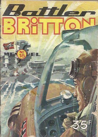 Couverture de Battler Britton -18- Le canon géant