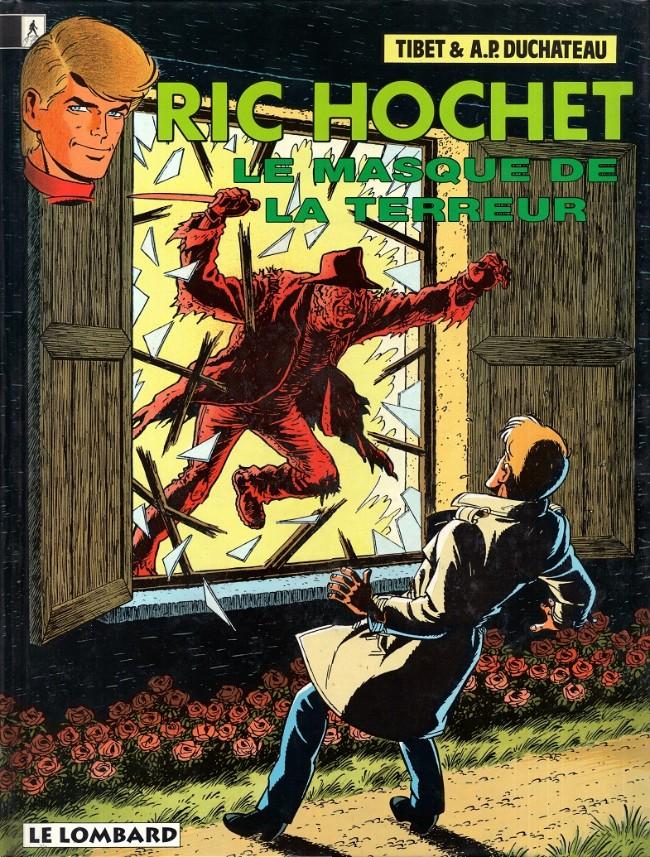 Couverture de Ric Hochet -54- Le masque de la terreur