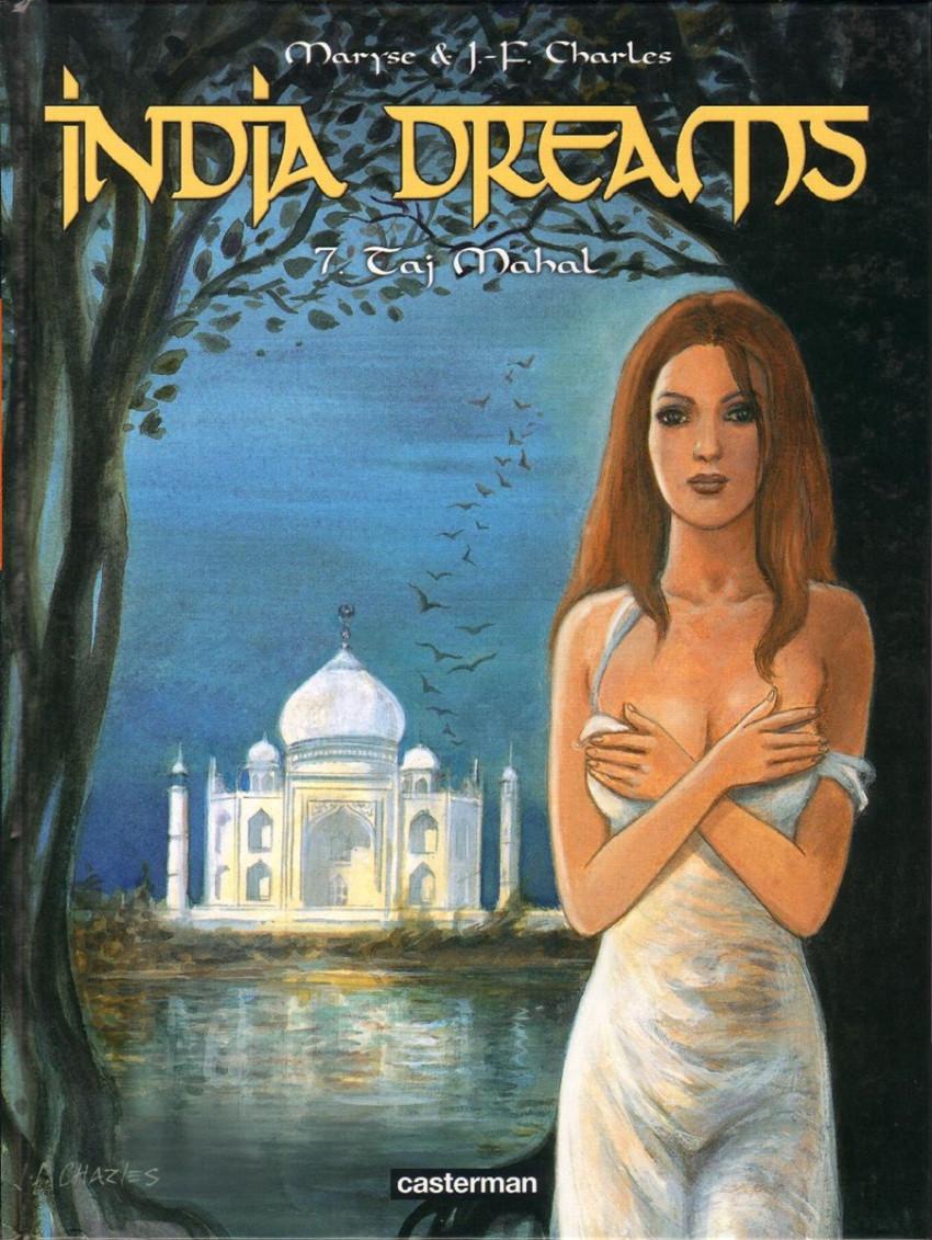 Couverture de India dreams -7- Taj Mahal