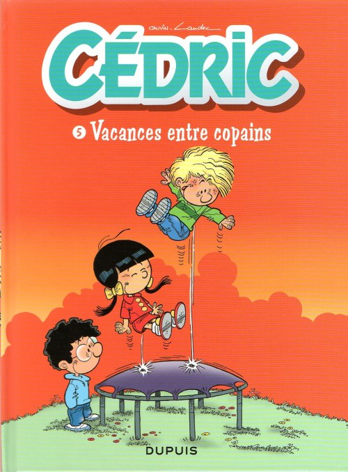 Couverture de Cédric -Quot5- Vacances entre copains