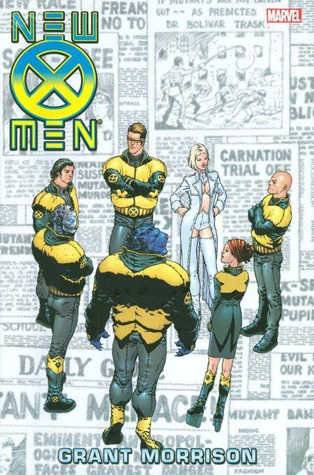 Couverture de New X-Men (2001) -OMNIa- New X-Men Omnibus
