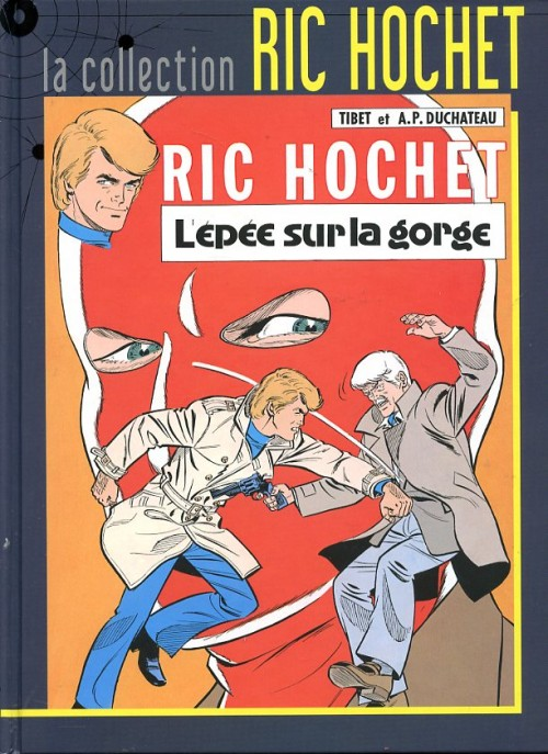 Couverture de Ric Hochet - La collection (Hachette) -27- L'épée sur la gorge