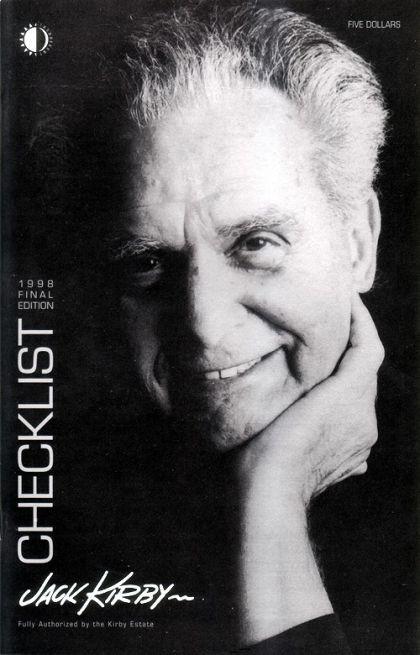 Couverture de (AUT) Kirby, Jack (en anglais) - The Jack Kirby Checklist 1998 Final edition