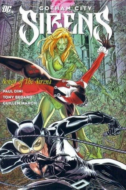 Couverture de Gotham City Sirens (2009) -INT02- Songs of the Sirens