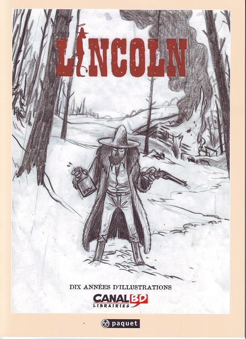 Couverture de Lincoln -HS1- Dix années d'illustrations