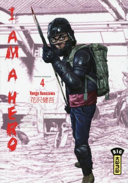 Couverture de I am a hero -4- Tome 4