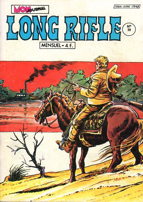 Couverture de Long Rifle -39- Le roi de l'embrouille