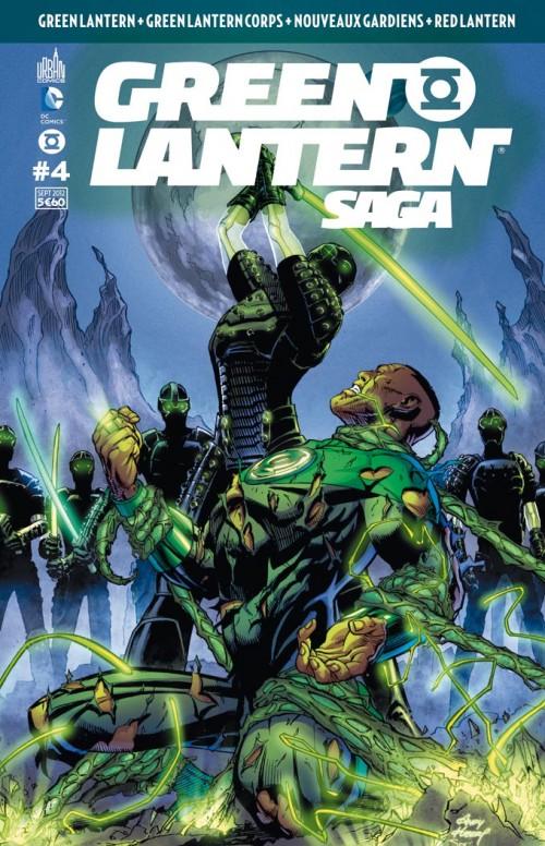 Couverture de Green Lantern Saga -4- Numéro 4