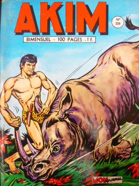 Couverture de Akim (1re série) -239- Les bouches du démon