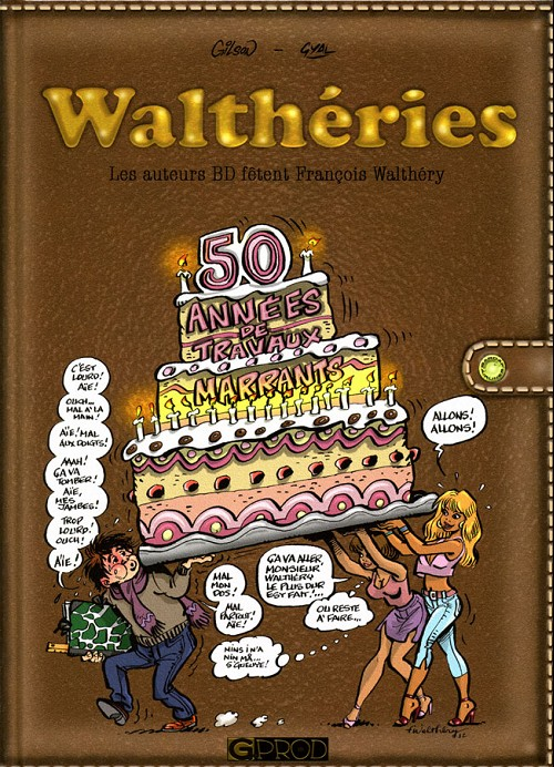 Couverture de (AUT) Walthéry -13- Walthéries