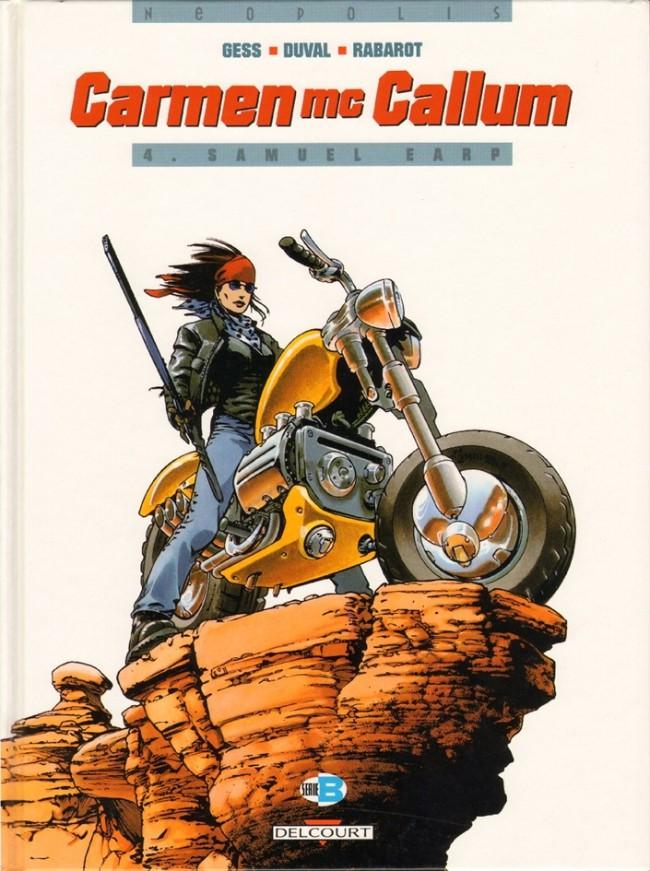 Couverture de Carmen Mc Callum -4- Samuel Earp